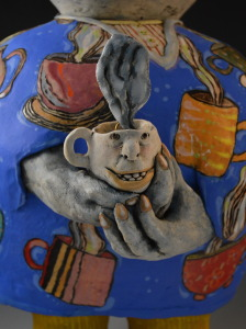 Tea Dreams, detail 1